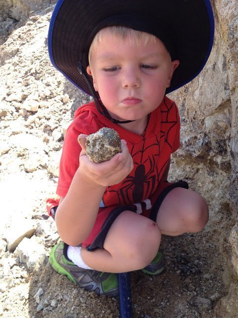 Oregon Thundereggs are fun for kids to find