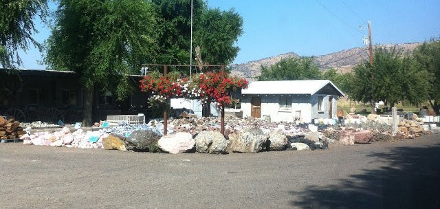 Richardson Ranch's rock yard