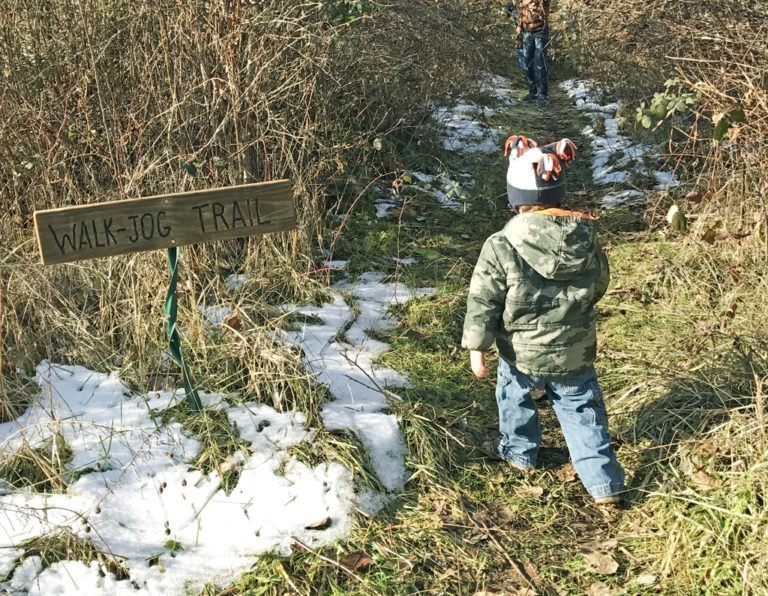 Hiking the LCC trail with kids - Eugene, Oregon